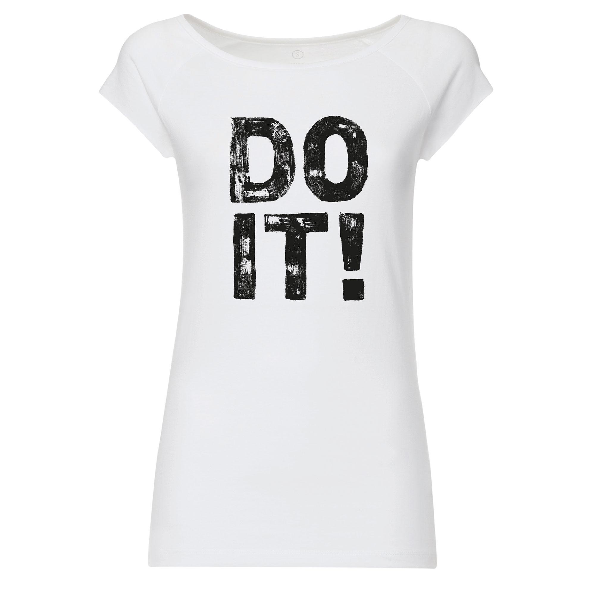100for10 Adam Lewis 2 Cap Sleeve black/white GOTS & Fairtrade
