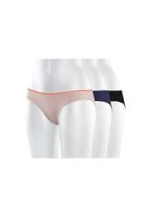 3 Pack TT28 Bikini Panty Netlace Whisper/Midnight/Black