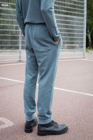 Bild 5 - TT1010 Knit Joggingpants Man Iceblue/Dots GOTS & Fairtrade