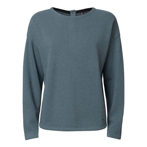 ThokkThokk TT1035 Knit Sweater Woman Light Blue/Dots made of organic cotton // Organic and Fairtrade certified