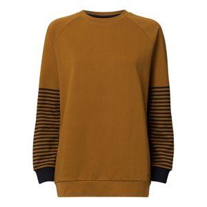 ThokkThokk TT1037 Raglan Sweater Woman Olive-Green made of organic cotton // Organic and Fairtrade certified