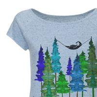 Bild 2 - FellHerz Wood Cap Sleeve blau/confetti Bio & Fair