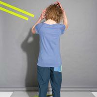 Bild 5 - TT01 Cap Sleeve 2.0 Ironblue GOTS & Fairtrade