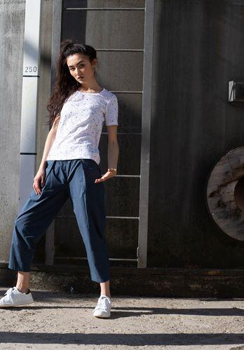 ThokkThokk Women T-Shirt Snippet White Organic Fair