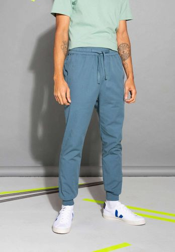 ThokkThokk Men Summer Pants Dark Blue Organic Fair