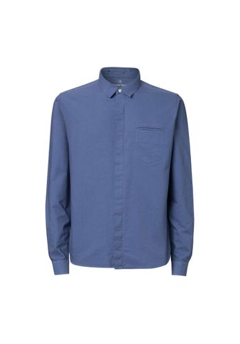 ThokkThokk Men Shirt Blue Grey Organic Fair