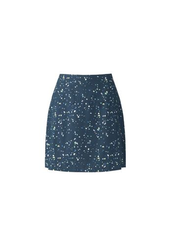 ThokkThokk Skirt Snippet Dark Blue Organic Fair