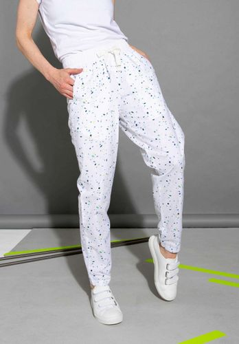 ThokkThokk Women Summer Pants Snippet White Organic Fair
