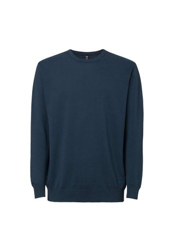 ThokkThokk Men Pullover Dark Blue Organic Fair