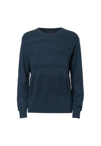ThokkThokk Women Pullover Dark Blue Organic Fair