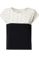 Upwards TT52 Square Shirt Woman black/white Sustainable & Fair