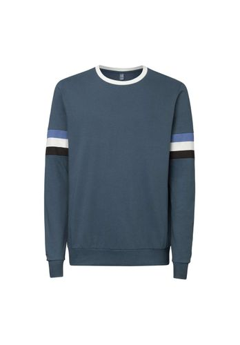 ThokkThokk Men Sweatshirt Blue Grey Organic Fair