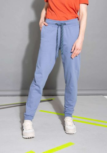 ThokkThokk Women Jogginghose Grey Blue Organic Fair