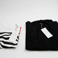 Bild 3 - 2er Pack Zebra18 T-Shirt white GOTS & Fairtrade // TT1024 Hoodie Unisex Black GOTS & Fairtrade