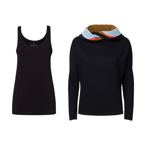 ThokkThokk Women Top and Hoodie 2 Pack Sustainable Fair