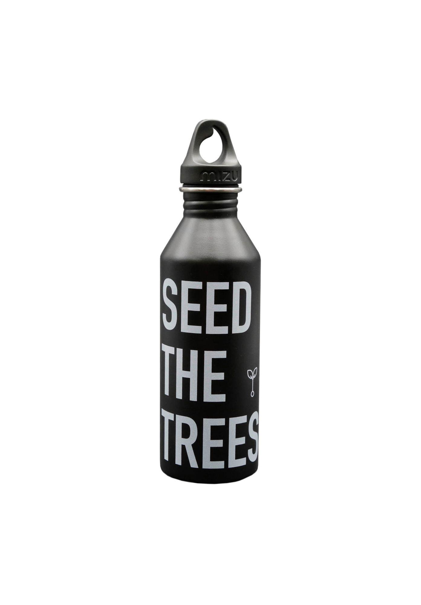 ThokkThokk Trinkflasche SEED THE TREES Black Nachhaltig