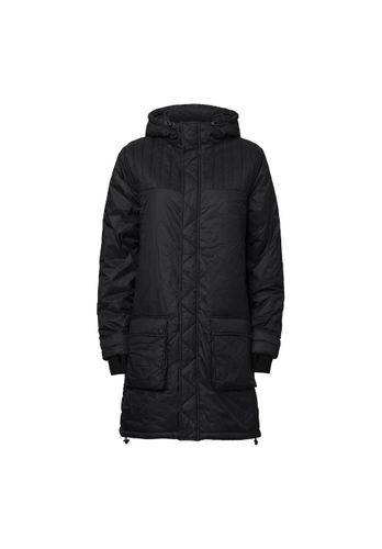 ThokkThokk Women Parka Kapok Black Vegan Fair