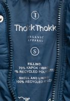 TT2013 Kapok Raglan Parka Woman Ink Blue 200gsm PETA-Approved Vegan