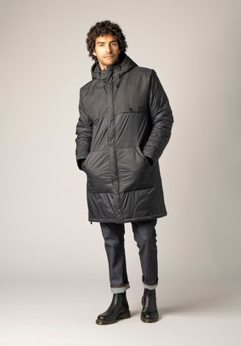 ThokkThokk Men Anorak Kapok Black Vegan Fair