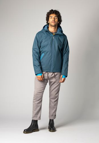 ThokkThokk Men Jacket Kapok Teal Vegan Fair