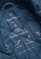 TT2009 Light Kapok Jacket Man Ink Blue 80gsm PETA-Approved Vegan