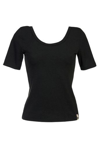 LOVJOI Women T-Shirt JUNE Black Organic Fair