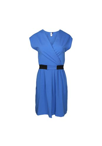 LOVJOI Women Dress MOITA blue Organic Fair