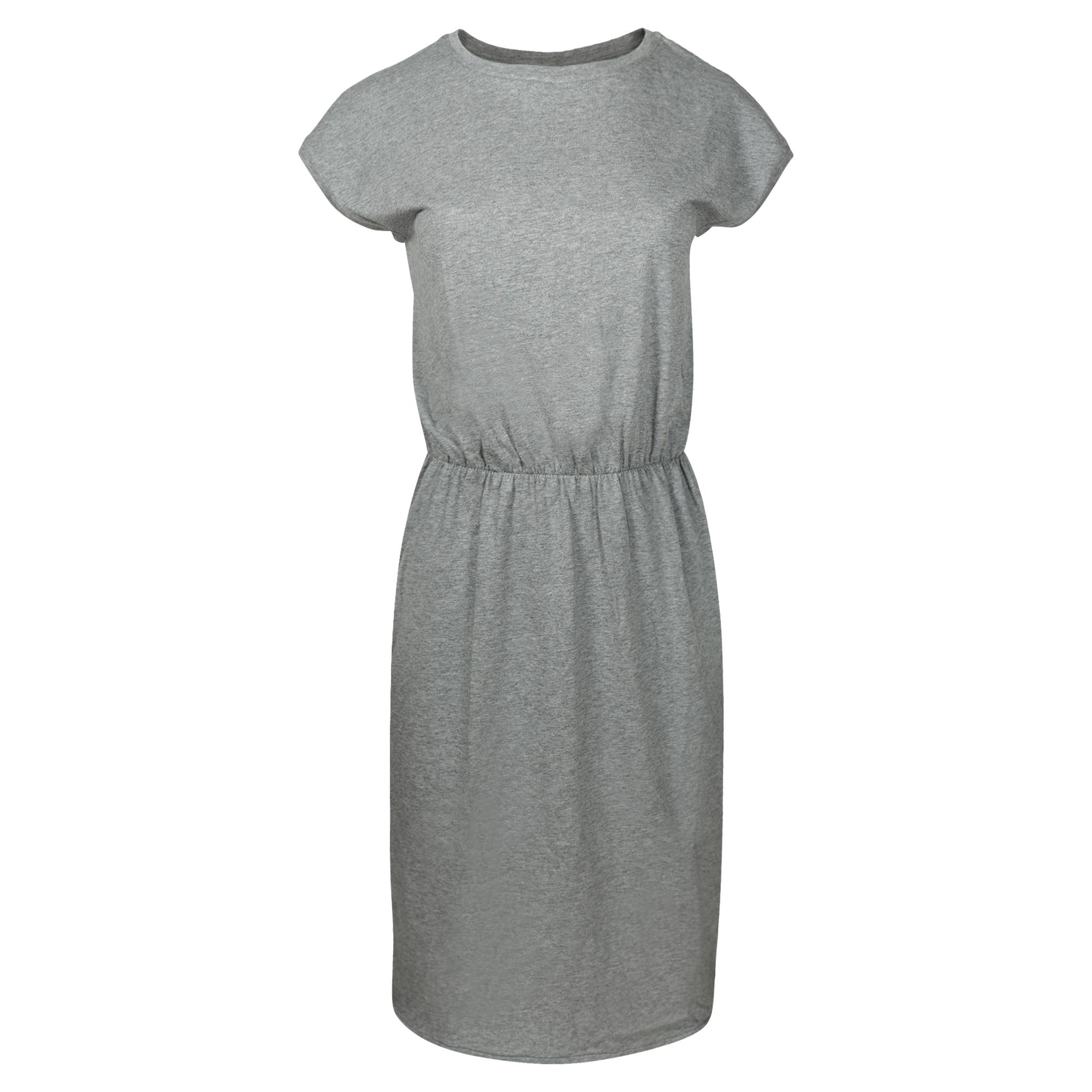 LOVJOI ODEMIRA Dress dark grey melange Bio & Fair