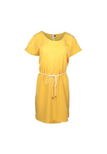 LOVJOI Women Dress LOURES yellow Sustainable Fair