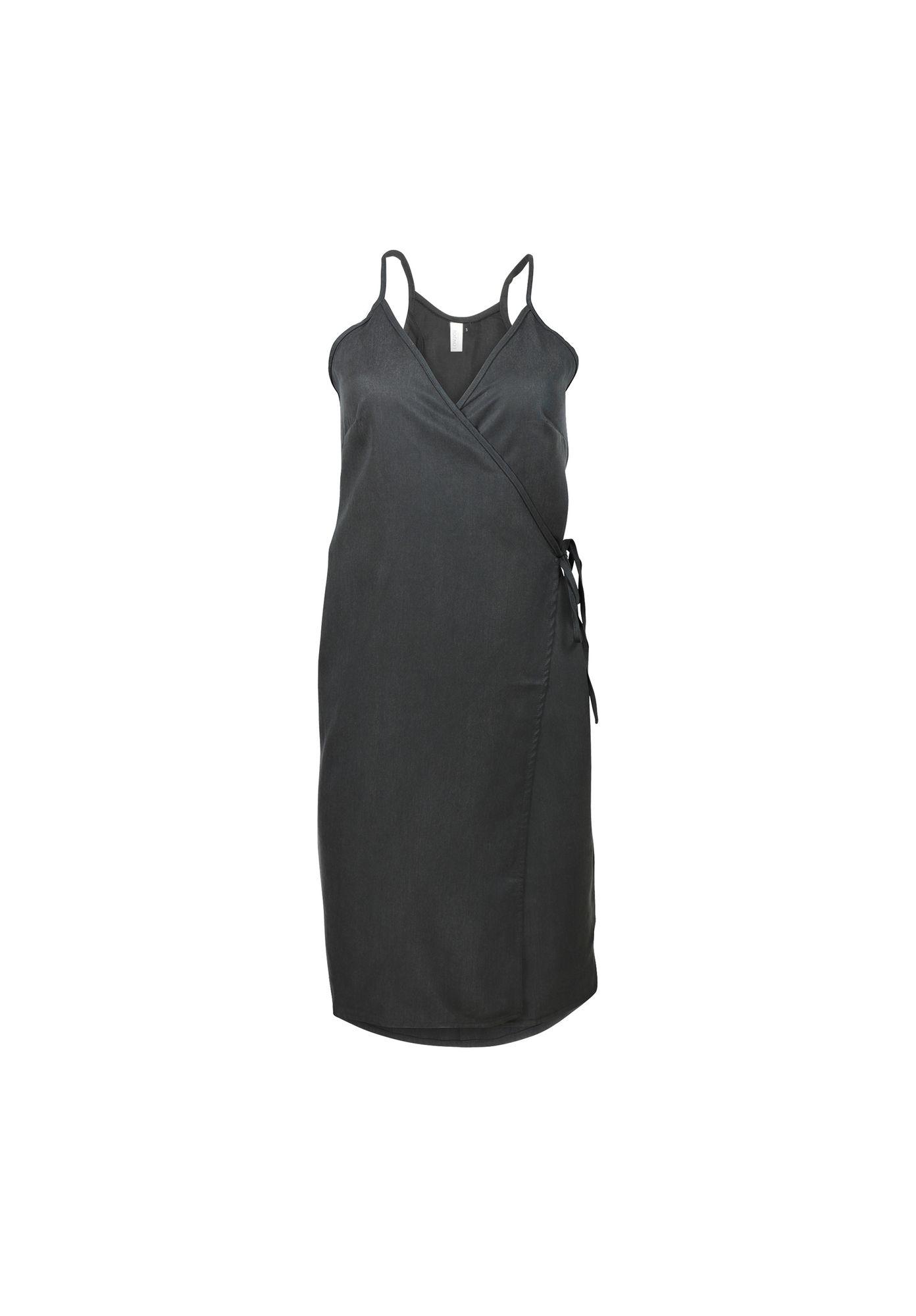 LOVJOI Damen Kleid NAZARÉ schwarz Nachhaltig Fair