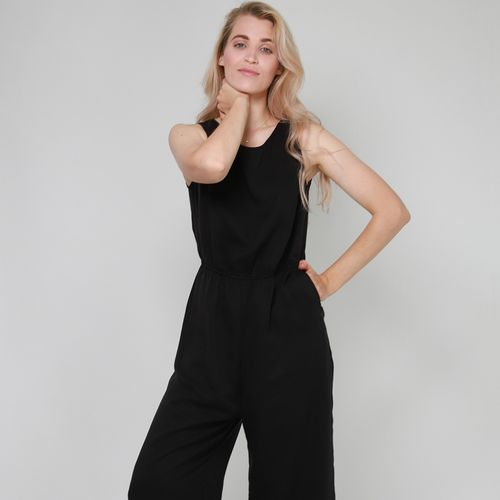 LOVJOI Women Jumpsuit STAINE black Sustainable Fair