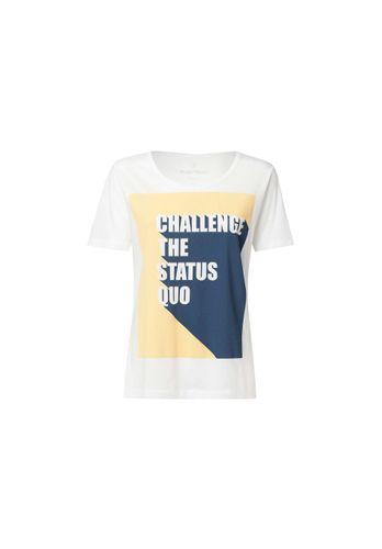 ThokkThokk Damen T-Shirt Status Quo Weiß Bio Fair