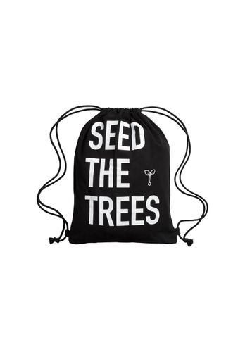 ThokkThokk Turnbeutel Seed The Trees Schwarz