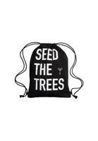 Bild 2 - SEED THE TREES Cotton Gym Bag Black