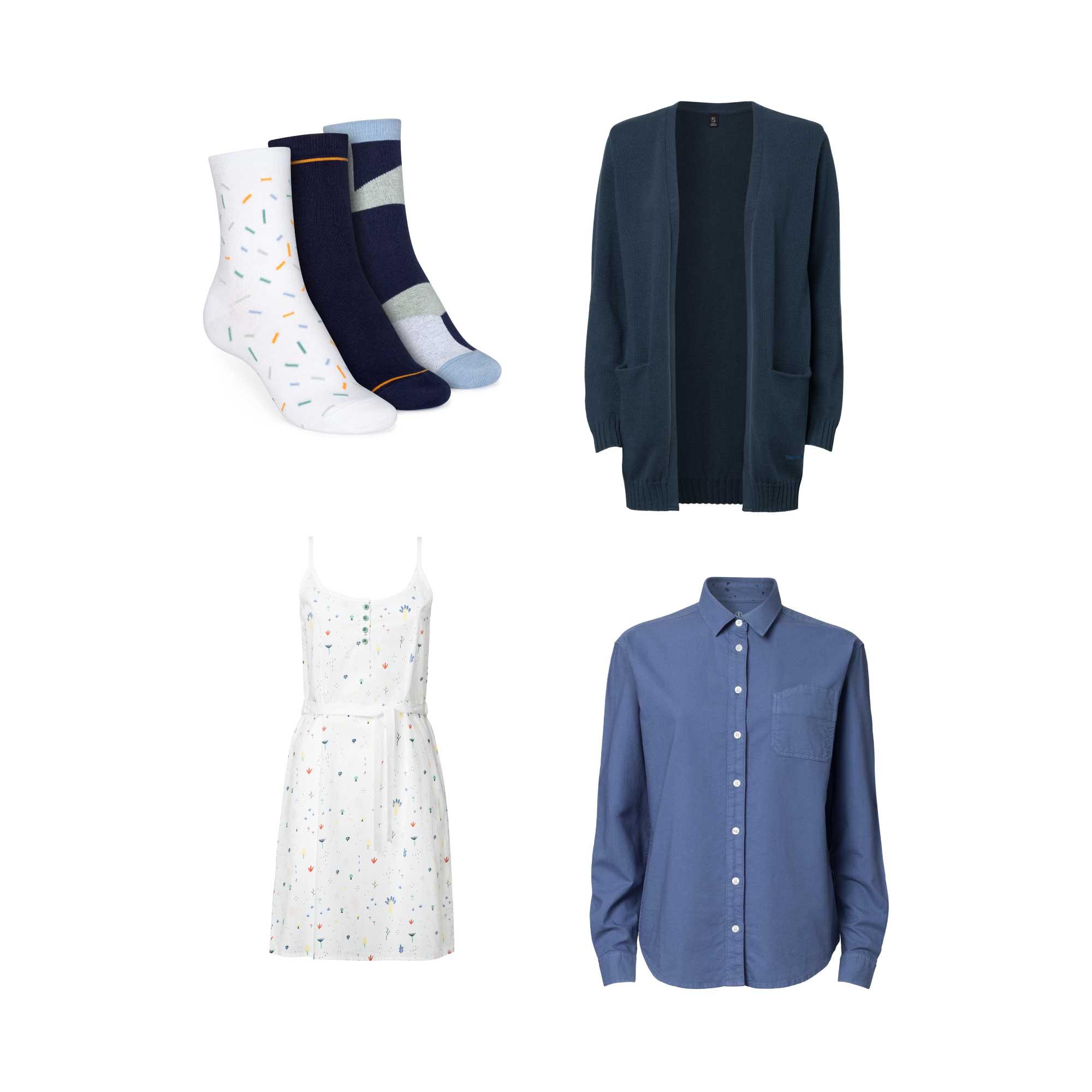 6er Pack Tiny Garden TT58 Dress | TT67 Shirt | TT3004 Cardigan | Mid-Top Socken