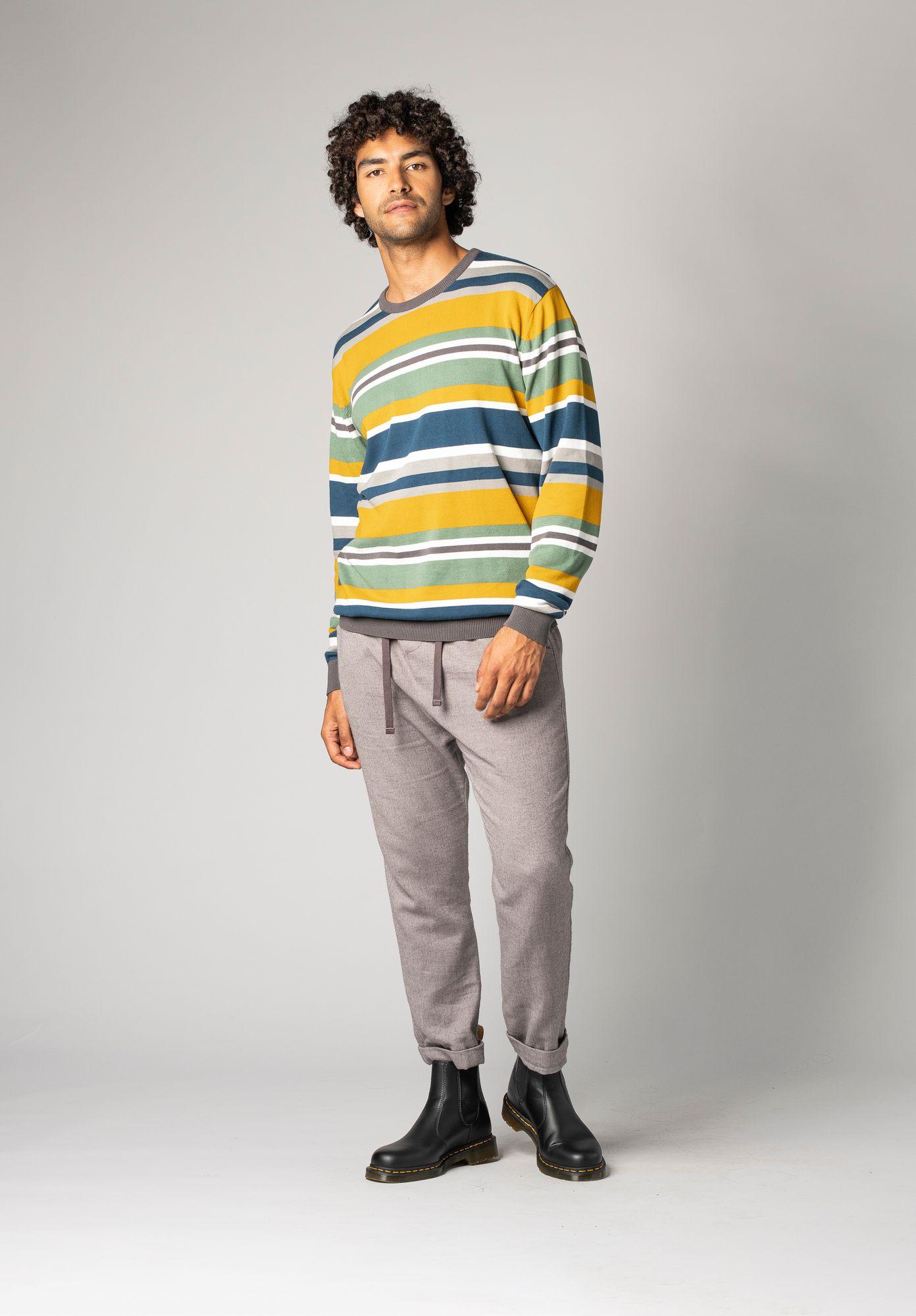 TT3002 Pullover Stripes GOTS & Fair