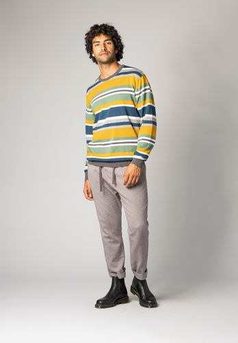 ThokkThokk Pullover Stripes Organic Fair