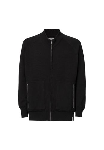 ThokkThokk Men Cardigan Black Organic Fair