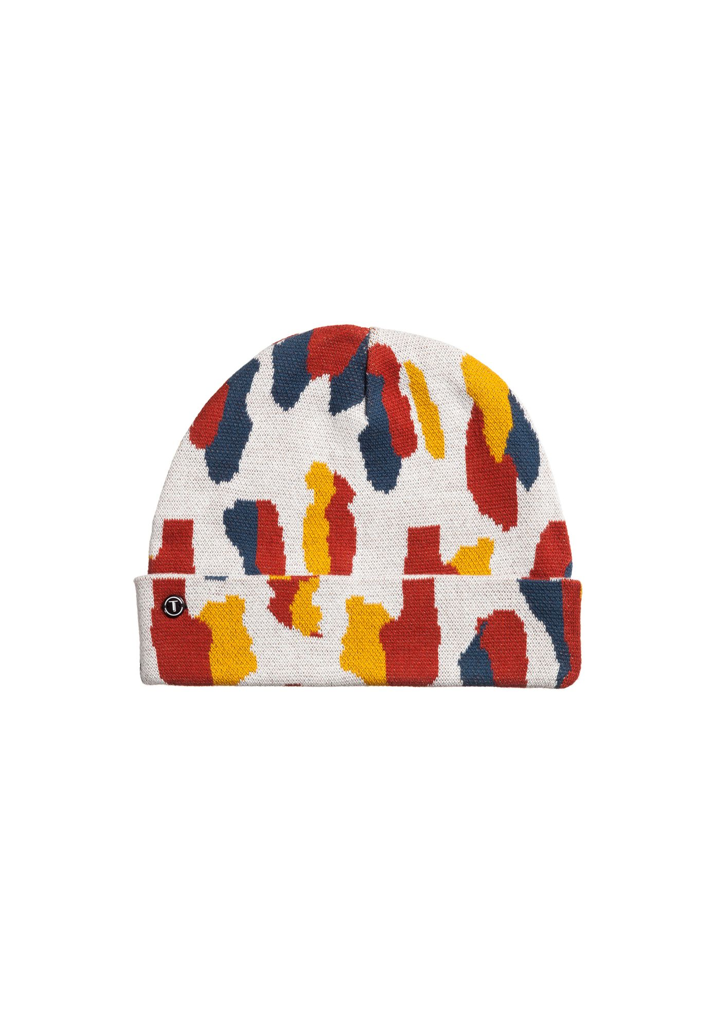 TT101 Folded Beanie Dots/Color Mix