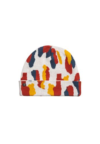 ThokkThokk Women Beanie Dots White Organic Fair