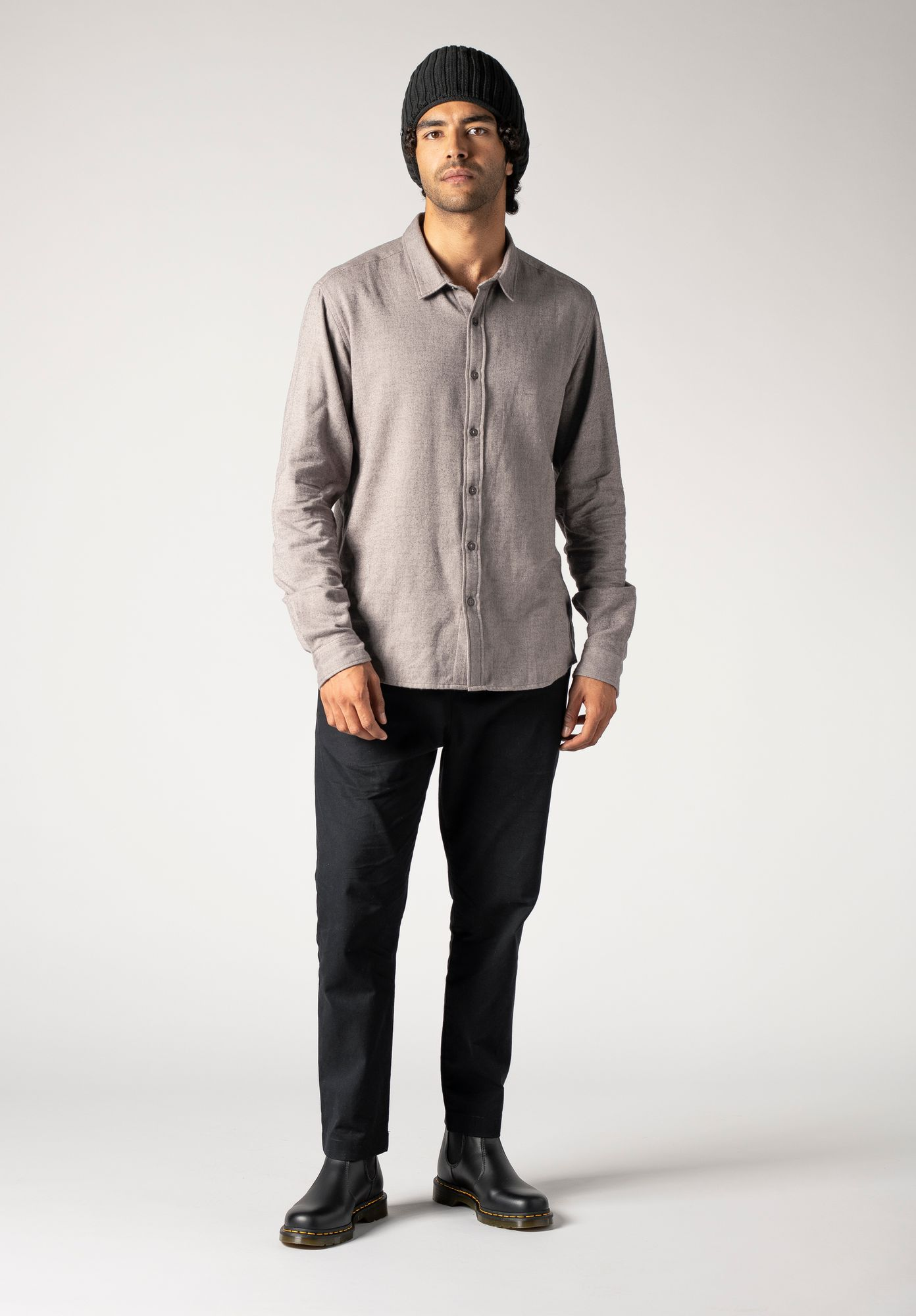 TT68 Shirt Herringbone