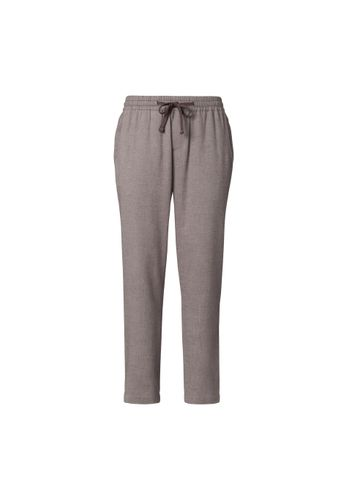 ThokkThokk Men Flannel Pants Grey Organic Fair