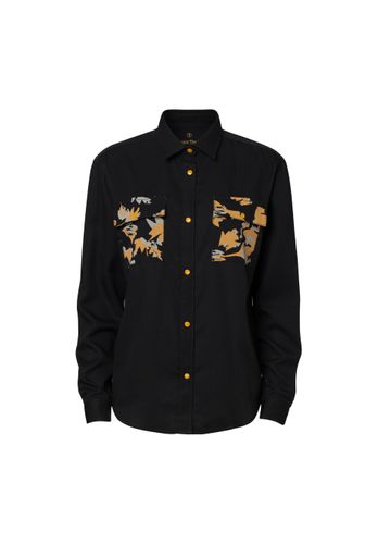 ThokkThokk Women Shirt Indian Summer Black Sustainable Fair