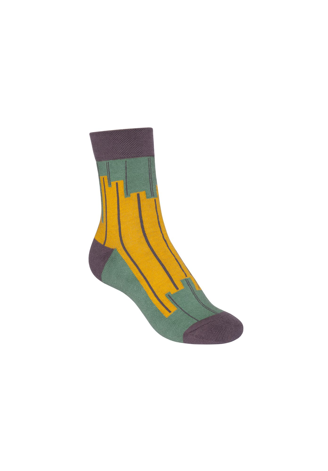 Skyline Terry Mid Socks Jade