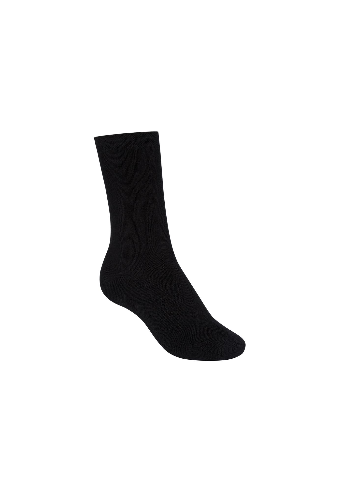 Terry High Socks Black