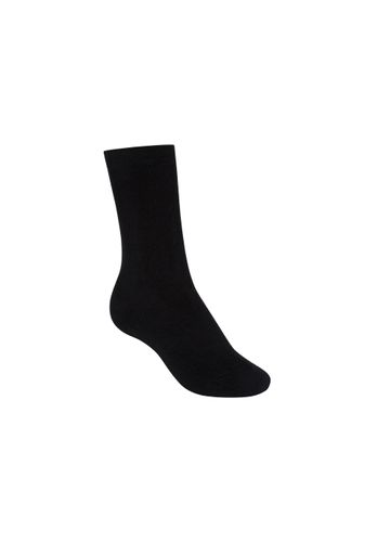 ThokkThokk Socks Terry High Black Organic Fair