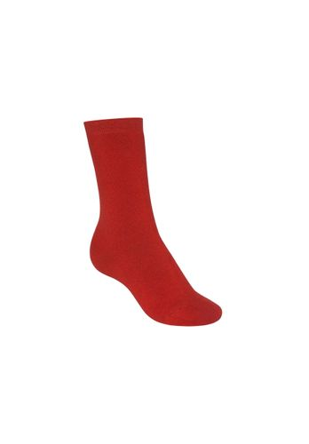 ThokkThokk Socks Terry High Red Organic Fair
