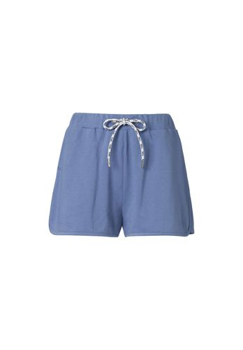 ThokkThokk Women Shorts Blue Organic Fair