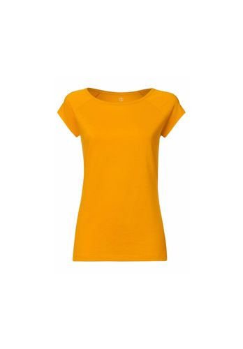 ThokkThokk Women T-Shirt Yellow Organic Fair