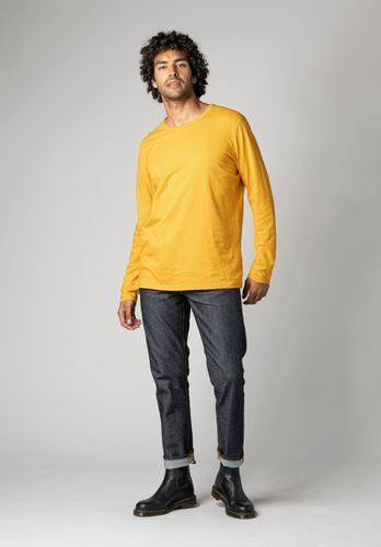 ThokkThokk Men Longsleeve Yellow Organic Fair